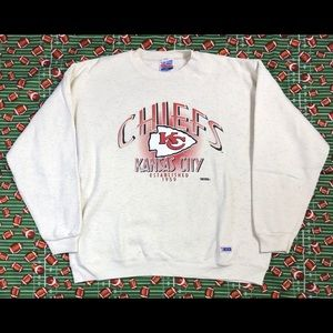 Vintage Kansas City Chiefs Crewneck🏈